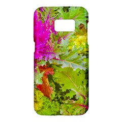 Colored Plants Photo Samsung Galaxy S7 Hardshell Case