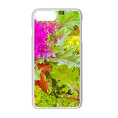 Colored Plants Photo Apple Iphone 7 Plus Seamless Case (white)