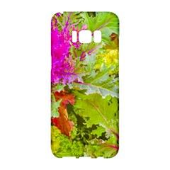 Colored Plants Photo Samsung Galaxy S8 Hardshell Case