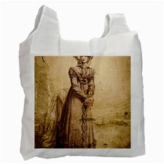 Lady 2507645 960 720 Recycle Bag (one Side)