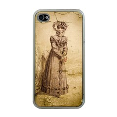 Lady 2507645 960 720 Apple Iphone 4 Case (clear)