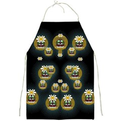 Bats In Caves In Spring Time Full Print Aprons