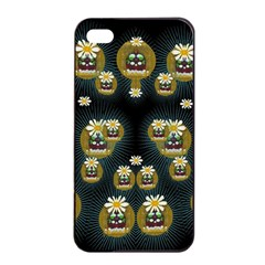 Bats In Caves In Spring Time Apple Iphone 4/4s Seamless Case (black)
