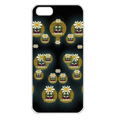 Bats In Caves In Spring Time Apple Iphone 5 Seamless Case (white)