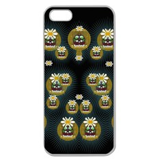 Bats In Caves In Spring Time Apple Seamless Iphone 5 Case (clear)