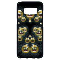 Bats In Caves In Spring Time Samsung Galaxy S8 Black Seamless Case