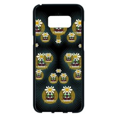 Bats In Caves In Spring Time Samsung Galaxy S8 Plus Black Seamless Case