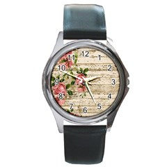 On Wood 2226067 1920 Round Metal Watch
