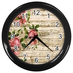 On Wood 2226067 1920 Wall Clocks (black)