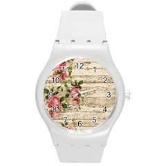 On Wood 2226067 1920 Round Plastic Sport Watch (m)
