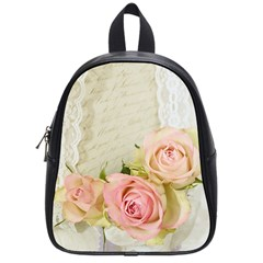 Roses 2218680 960 720 School Bag (small)