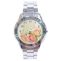 Roses 2218680 960 720 Stainless Steel Analogue Watch