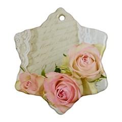 Roses 2218680 960 720 Ornament (snowflake)