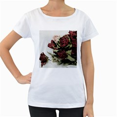 Roses 1802790 960 720 Women s Loose Fit T Shirt (white)