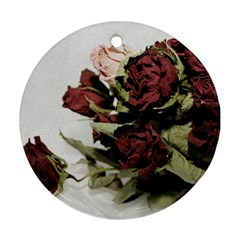 Roses 1802790 960 720 Round Ornament (two Sides)