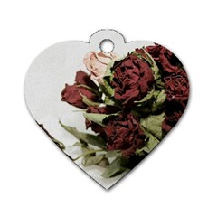 Roses 1802790 960 720 Dog Tag Heart (two Sides)