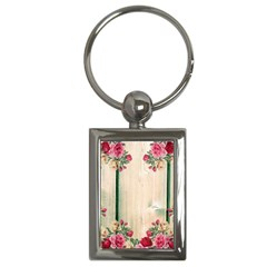 Roses 1944106 960 720 Key Chains (rectangle)