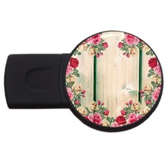 Roses 1944106 960 720 Usb Flash Drive Round (2 Gb)