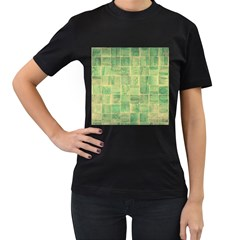 Abstract 1846980 960 720 Women s T Shirt (black) (two Sided)
