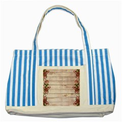 On Wood 1975944 1920 Striped Blue Tote Bag