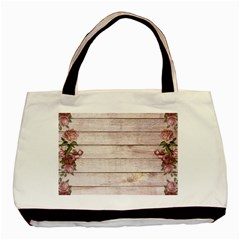 On Wood 1975944 1920 Basic Tote Bag (two Sides)