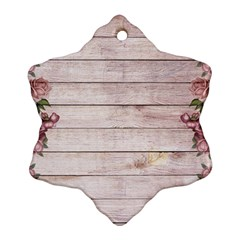 On Wood 1975944 1920 Snowflake Ornament (two Sides)