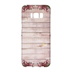 On Wood 1975944 1920 Samsung Galaxy S8 Hardshell Case