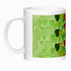 Summer Time In Lovely Hearts Night Luminous Mugs