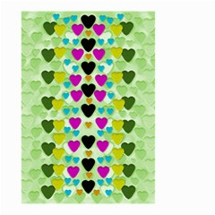 Summer Time In Lovely Hearts Small Garden Flag (two Sides)