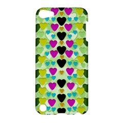 Summer Time In Lovely Hearts Apple Ipod Touch 5 Hardshell Case