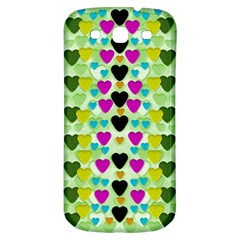 Summer Time In Lovely Hearts Samsung Galaxy S3 S Iii Classic Hardshell Back Case