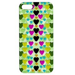 Summer Time In Lovely Hearts Apple Iphone 5 Hardshell Case With Stand