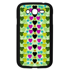 Summer Time In Lovely Hearts Samsung Galaxy Grand Duos I9082 Case (black)