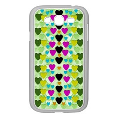 Summer Time In Lovely Hearts Samsung Galaxy Grand Duos I9082 Case (white)
