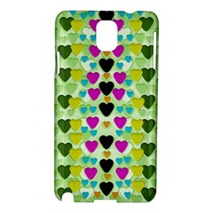 Summer Time In Lovely Hearts Samsung Galaxy Note 3 N9005 Hardshell Case
