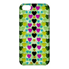 Summer Time In Lovely Hearts Apple Iphone 5c Hardshell Case