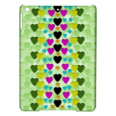 Summer Time In Lovely Hearts Ipad Air Hardshell Cases