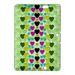 Summer Time In Lovely Hearts Kindle Fire Hdx 8 9  Hardshell Case
