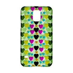 Summer Time In Lovely Hearts Samsung Galaxy S5 Hardshell Case