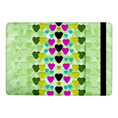 Summer Time In Lovely Hearts Samsung Galaxy Tab Pro 10 1  Flip Case
