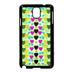Summer Time In Lovely Hearts Samsung Galaxy Note 3 Neo Hardshell Case (black)