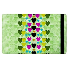 Summer Time In Lovely Hearts Apple Ipad Pro 12 9   Flip Case