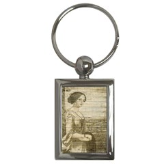 Lady 2523423 1920 Key Chains (rectangle)