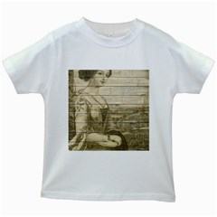 Lady 2523423 1920 Kids White T Shirts