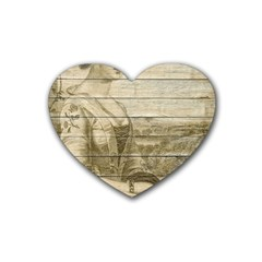 Lady 2523423 1920 Heart Coaster (4 Pack)