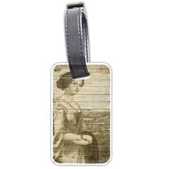 Lady 2523423 1920 Luggage Tags (two Sides)