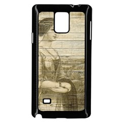 Lady 2523423 1920 Samsung Galaxy Note 4 Case (black)