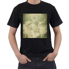 Ballet 2523406 1920 Men s T Shirt (black) (two Sided)