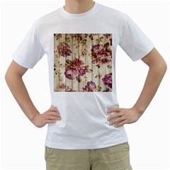 On Wood 1897174 1920 Men s T Shirt (white) (two Sided)