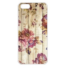 On Wood 1897174 1920 Apple Iphone 5 Seamless Case (white)